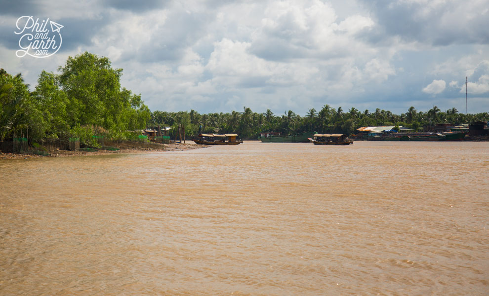 One last look back at the Mekong River Delta