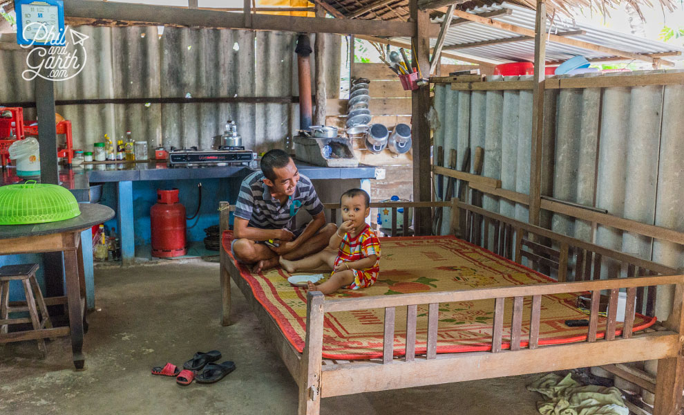 Open plan living in the Mekong Delta