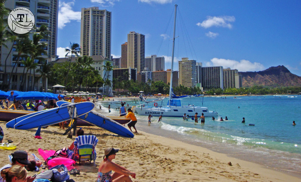 From sunbathing to surfing, Waikiki Beach is the epitome of fun in the sun!