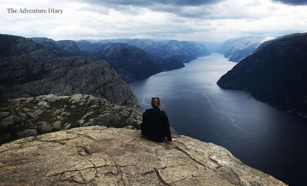 The view from Priekestolen rock