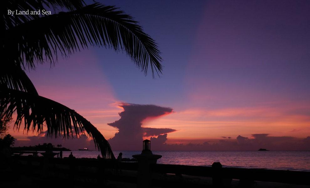Dickenson's Bay sunset