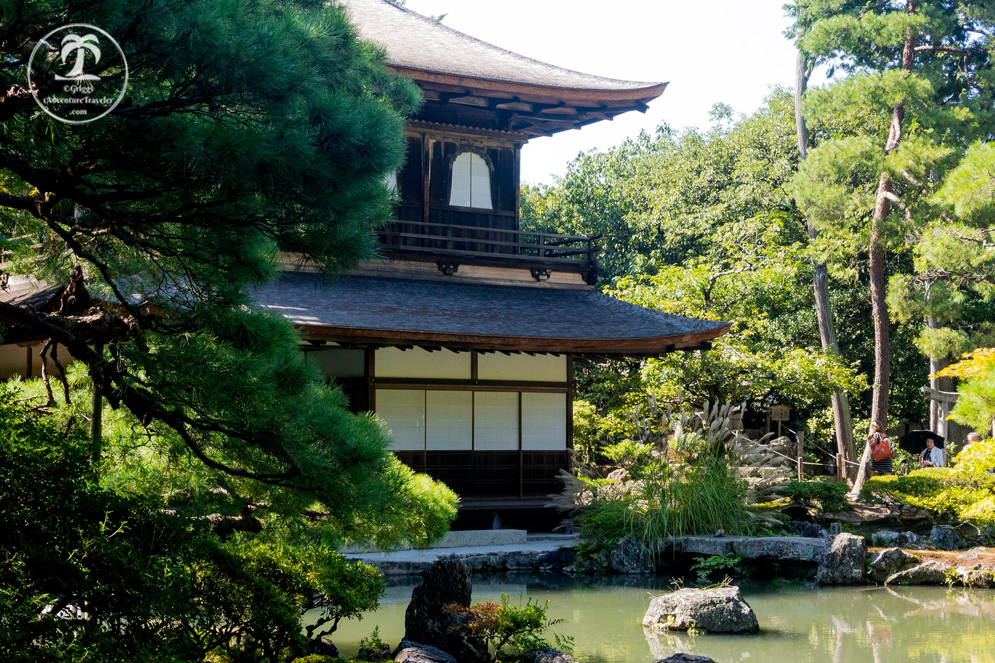 The Best Places To Travel By Month - April for Japanese garden in Kyoto