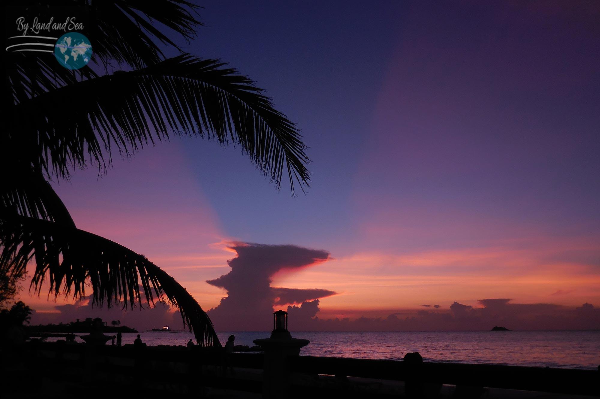 Dickenson's Bay sunset, Antigua and Barbuda