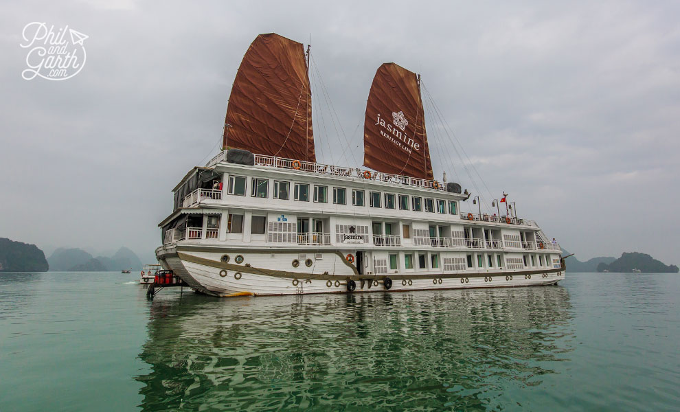 Heritage Line's Jasmine boat
