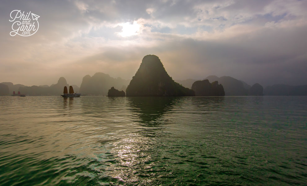 Atmospheric and otherworldly Ha Long Bay