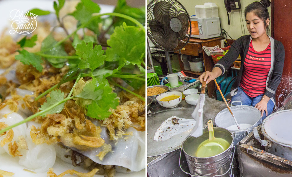 The best Banh Cuon in Hanoi