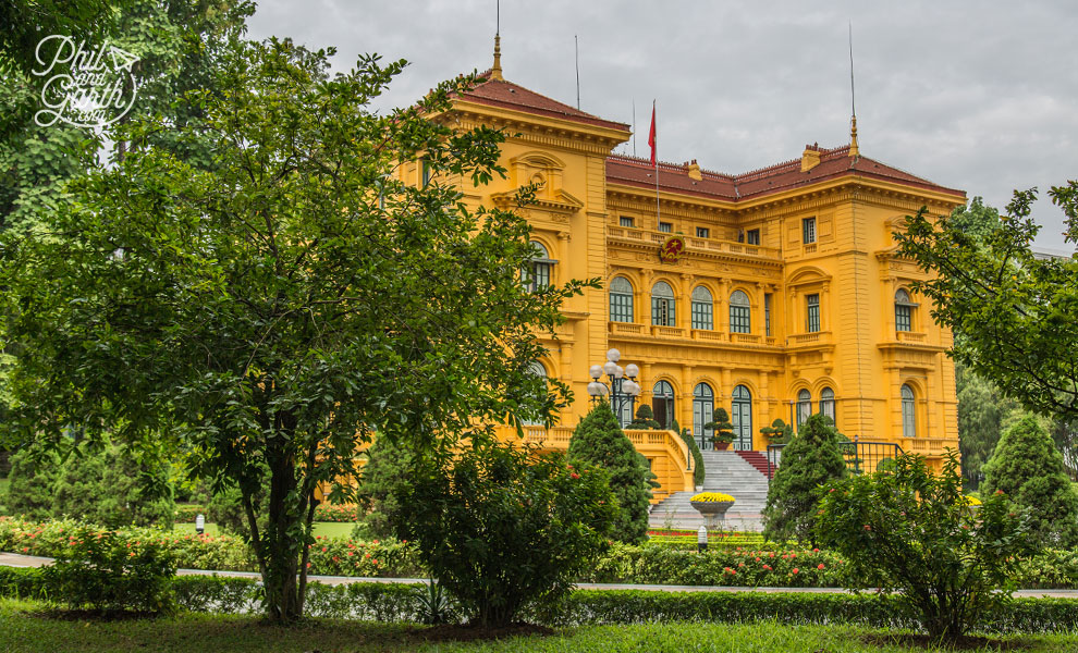 The Presidential Palace of the former General Governor of French Indochina