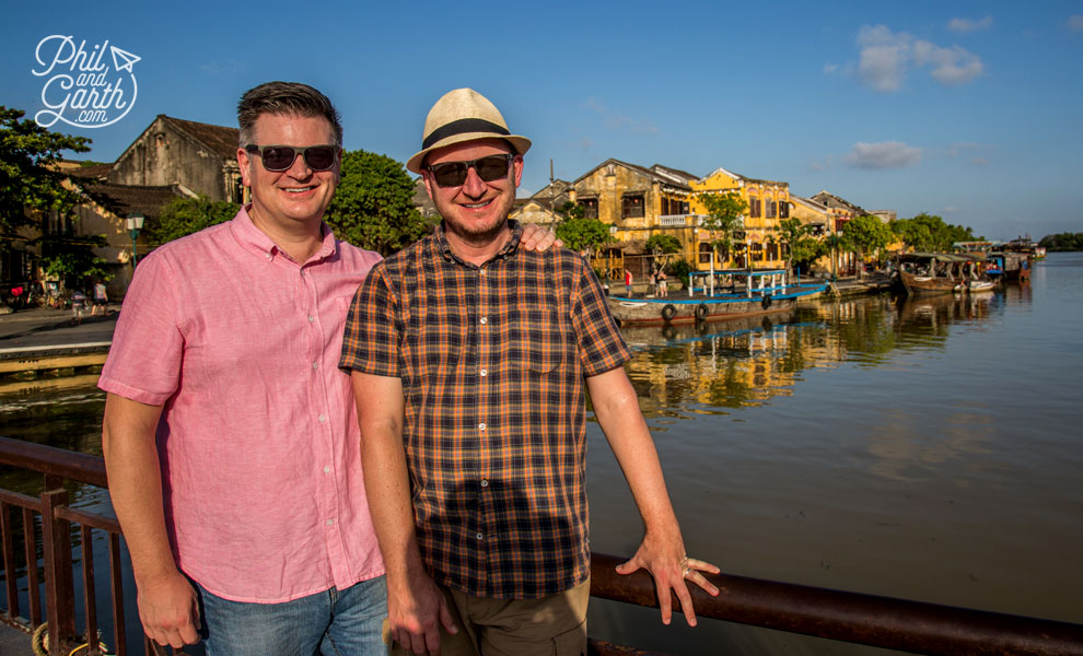 Phil and Garth in Hoi An
