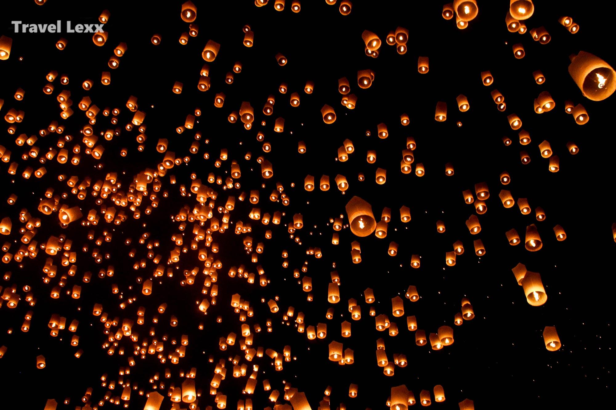 Yi Peng Lantern Festival, Thailand