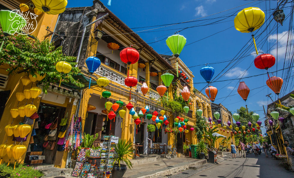 Hoi An's colourful streets