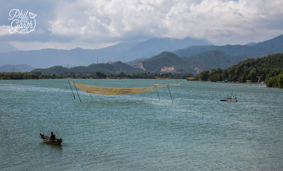 Fishing near Da Nang