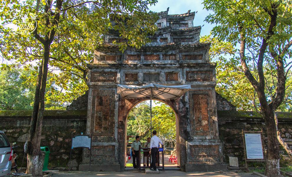 A Royal Tomb entrance gate