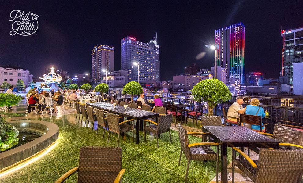Rex Hotel's Rooftop Garden Bar