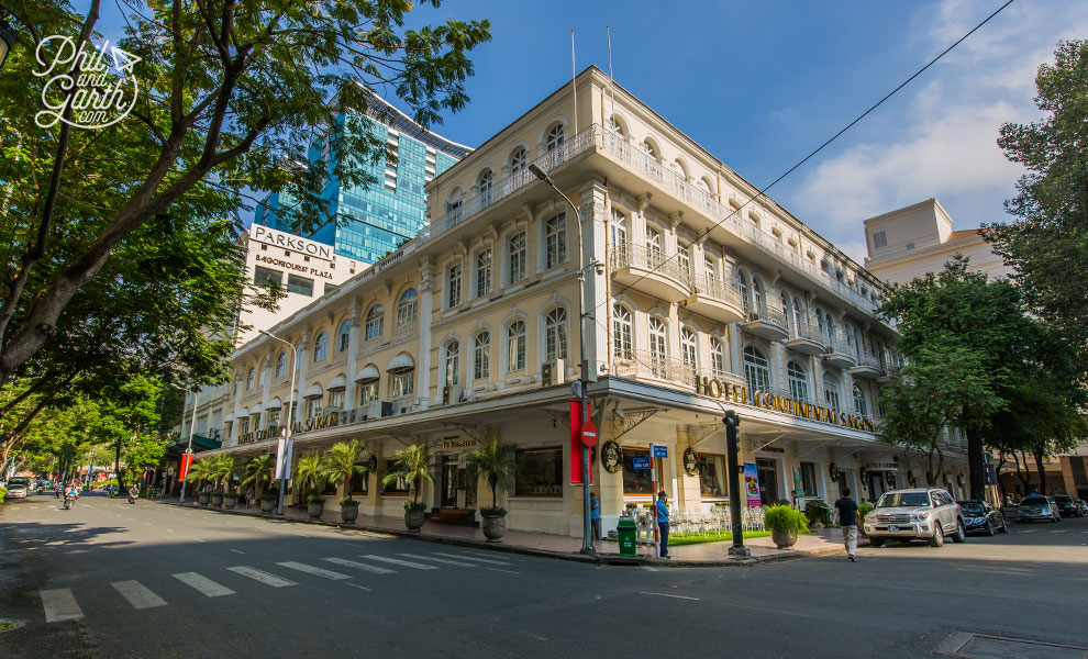 The oldest hotel - Continental Saigon