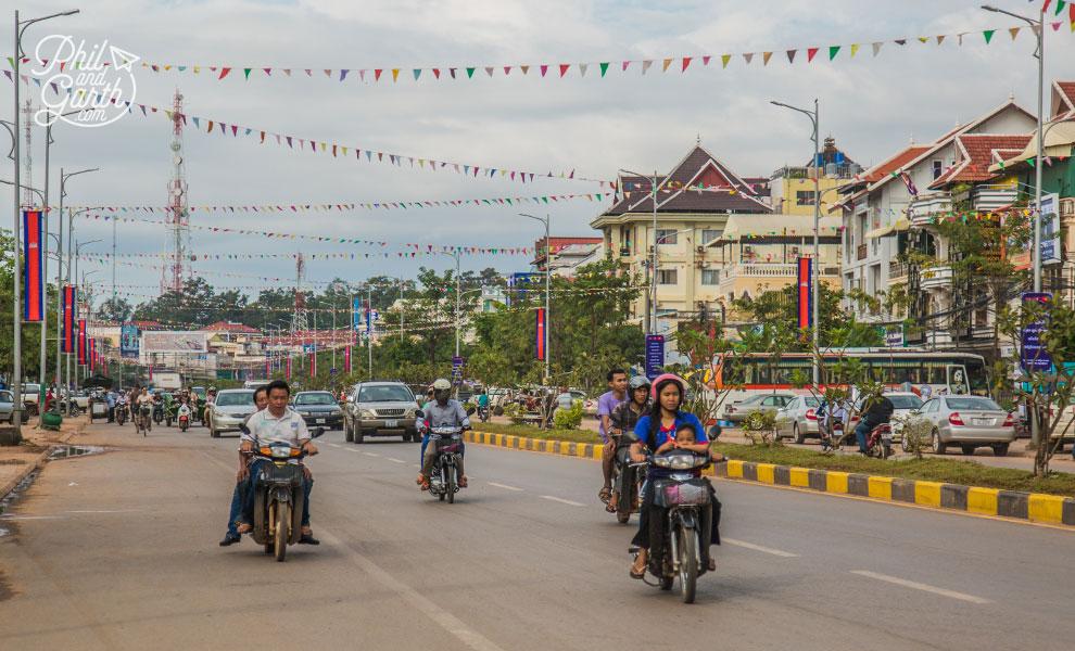 Street life in Siem Reap