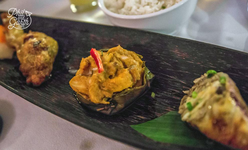 The tasting menu at Malis