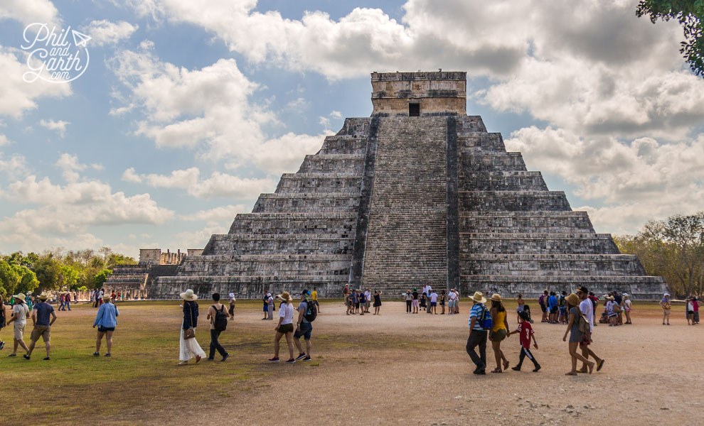 El Castillo has many secrets