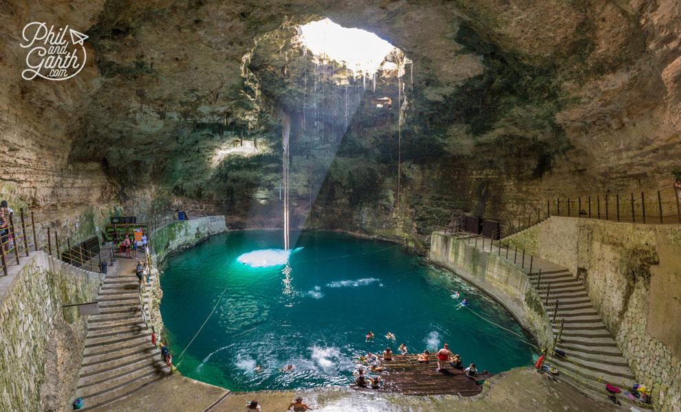 Cenote Hubiku - a magical underground sinkhole