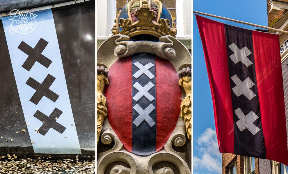 Amsterdam's XXX symbol