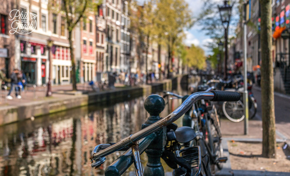 Amsterdam - a city of bikes