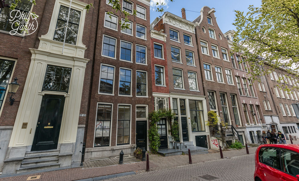Amsterdam's narrowest house