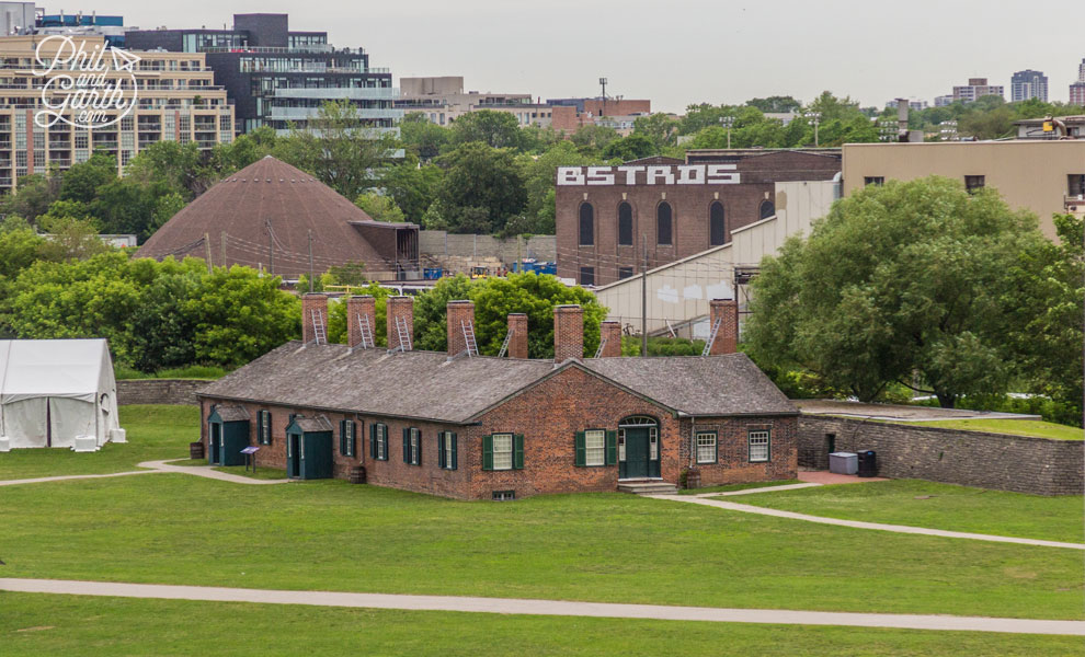 Historic Fort York - A defence and military garrison