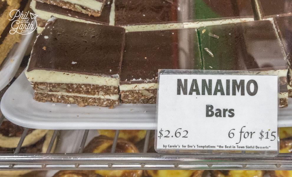 Nanaimo bars - Toronto's sweet snack