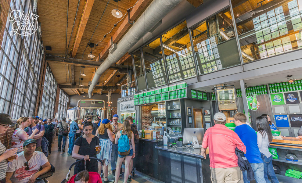 The Steam Whistle Brewery