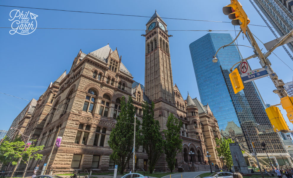Toronto's old city hall built in 1900