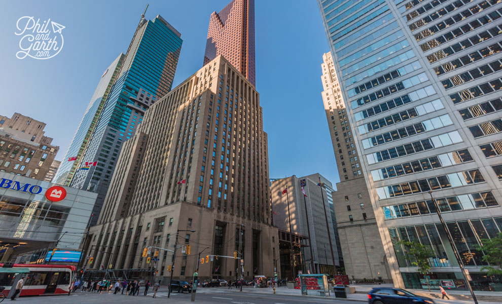 The banking crossroads of Bay Street