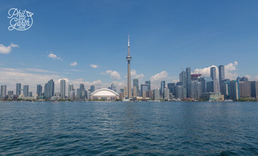 Toronto's impressive skyline