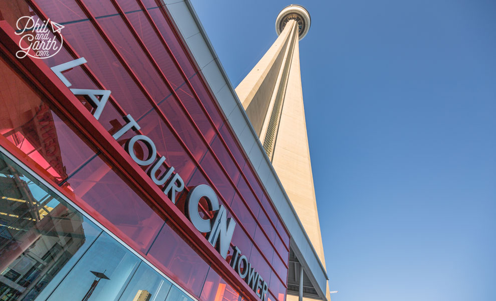 Toronto's iconic CN Tower