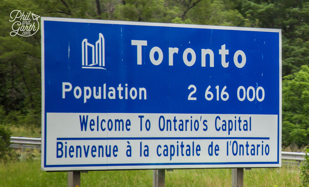 The Greater Toronto Area population is 6.5 million