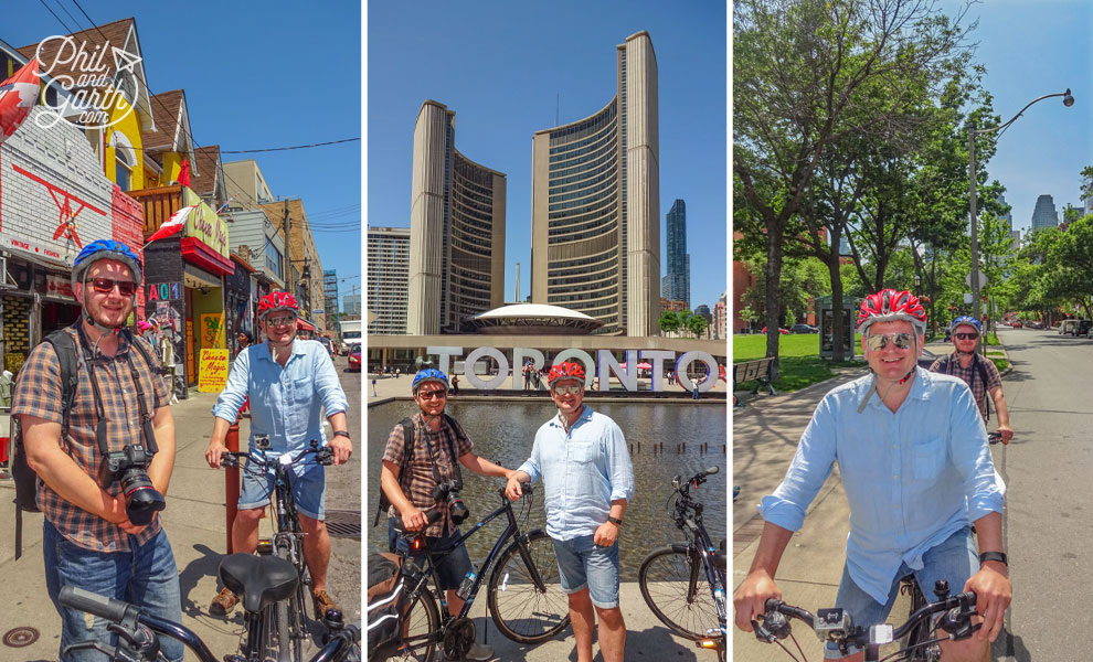 Souvenir snaps from our bicycle tour
