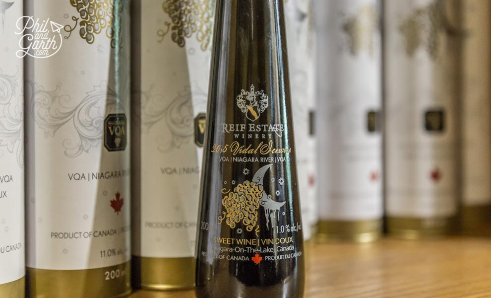 Icewine from The Reif Estate Winery