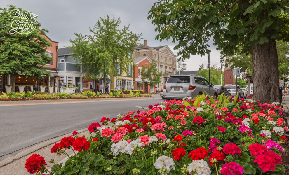 Niagara-on-the-Lake blooming lovely floral displays