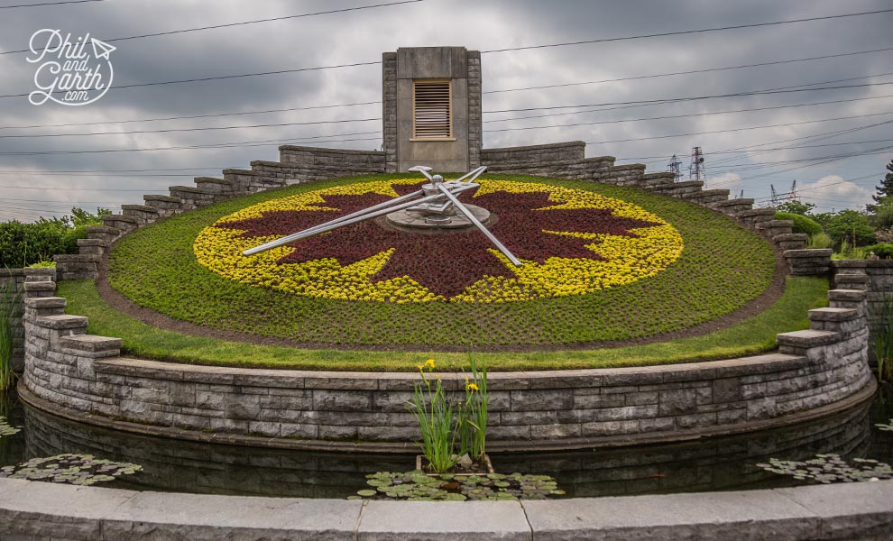 The Floral Clock - Niagara Parks