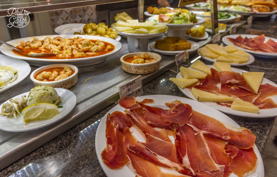 Huge variety of tapas bars across Barcelona to suit any budget