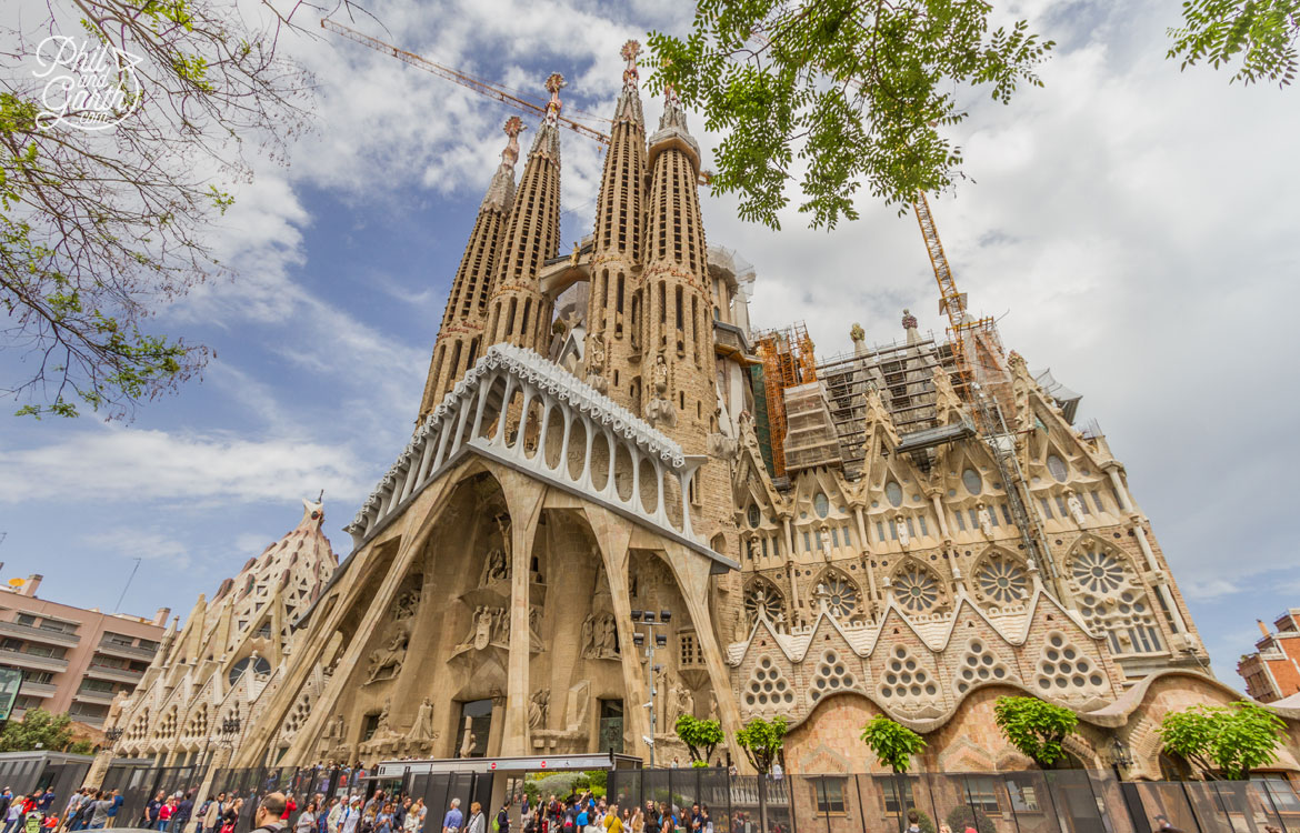 Sagrada Família is the number 1 must see sight in Barcelona