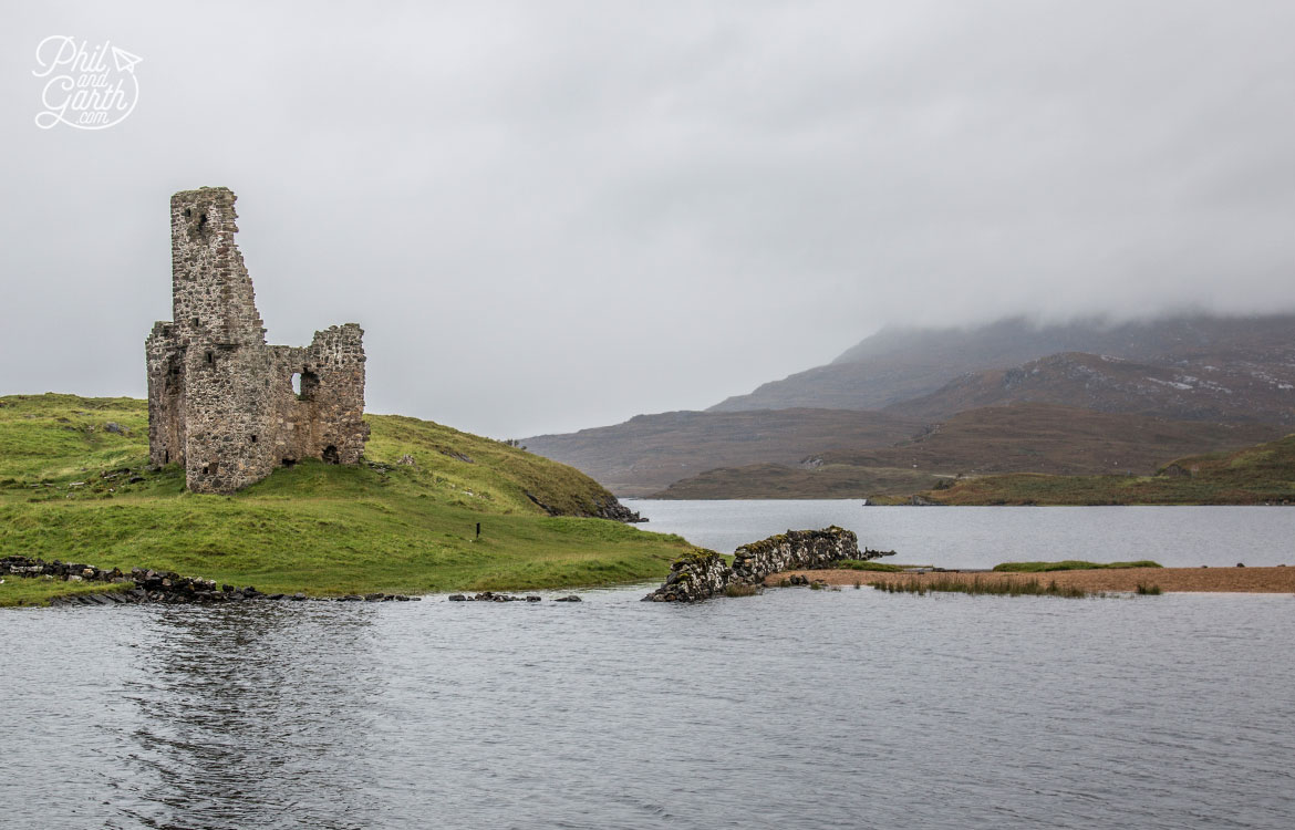 Scottish Highlands in 7 Days - Ardvreck Castle Assynt