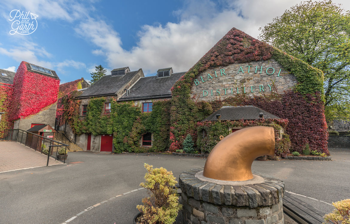 Scottish Highlands in 7 Days - The Blair Athol Whiskey Distillery, Pitlochry