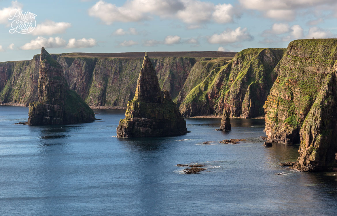 Scottish Highlands in 7 Days - The Duncansby Stacks rock pinnacles