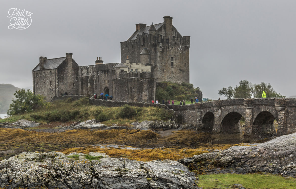Scottish Highlands in 7 Days - The photogenic Eilean Donan Castle