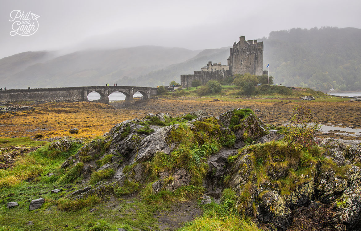 Possibly Scotland's most famous castle? - Eilean Donan Castle