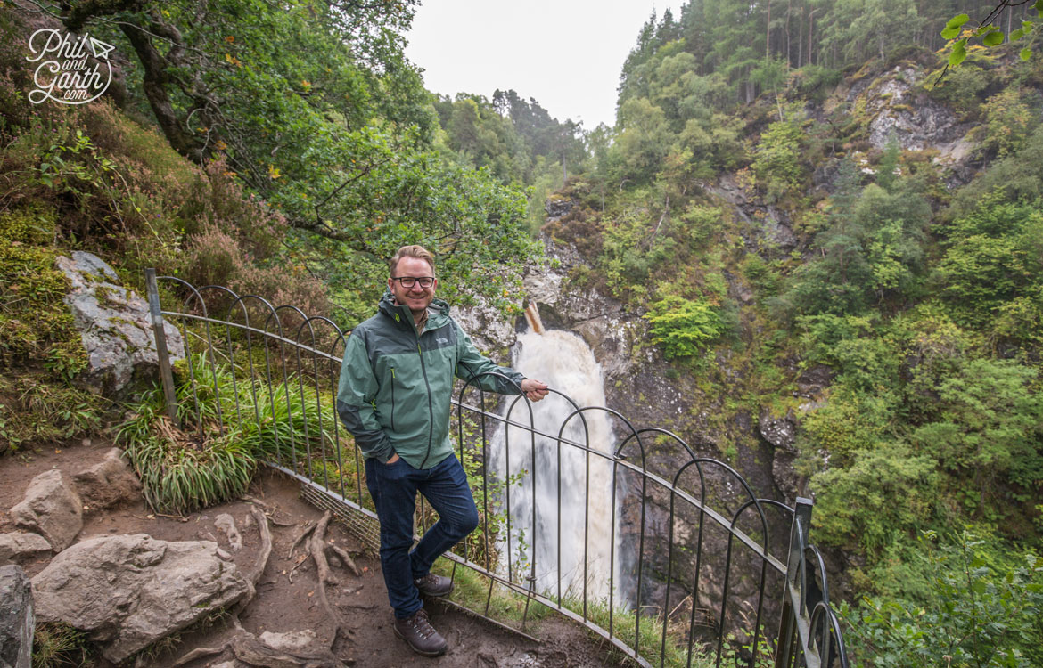 Garth at the Falls of Foyers