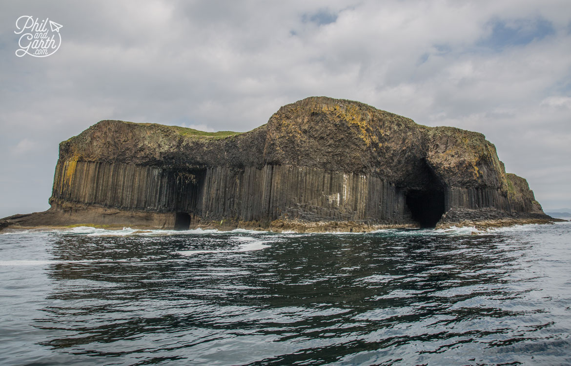 The otherworldly looking Isle of Staffa