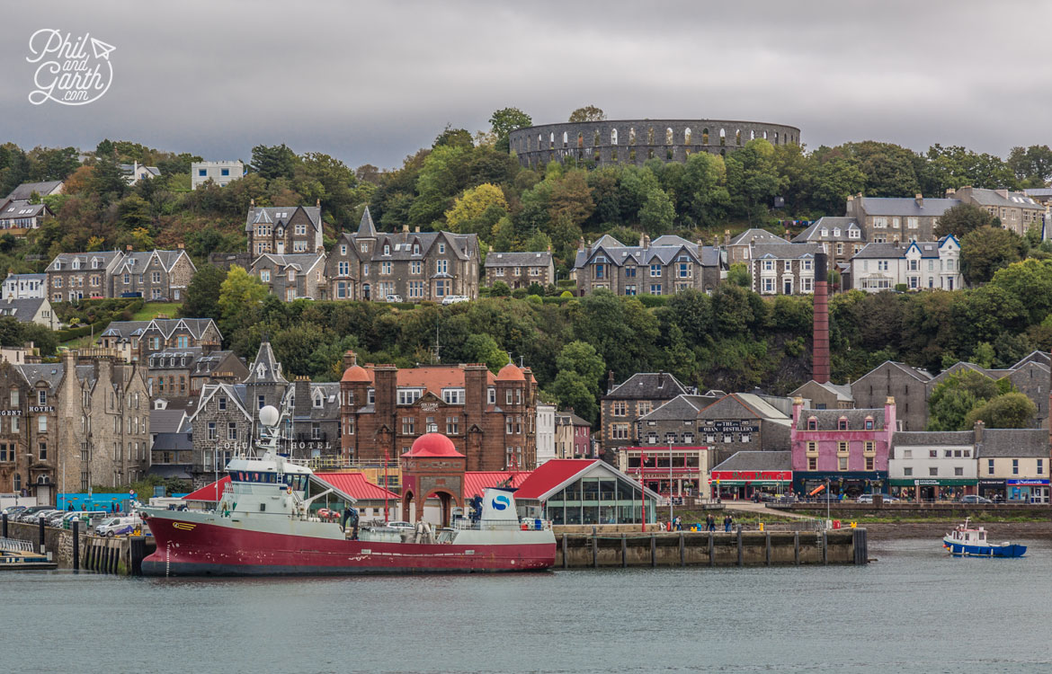 "Oban means ""Little Bay"" in the Gaelic language."