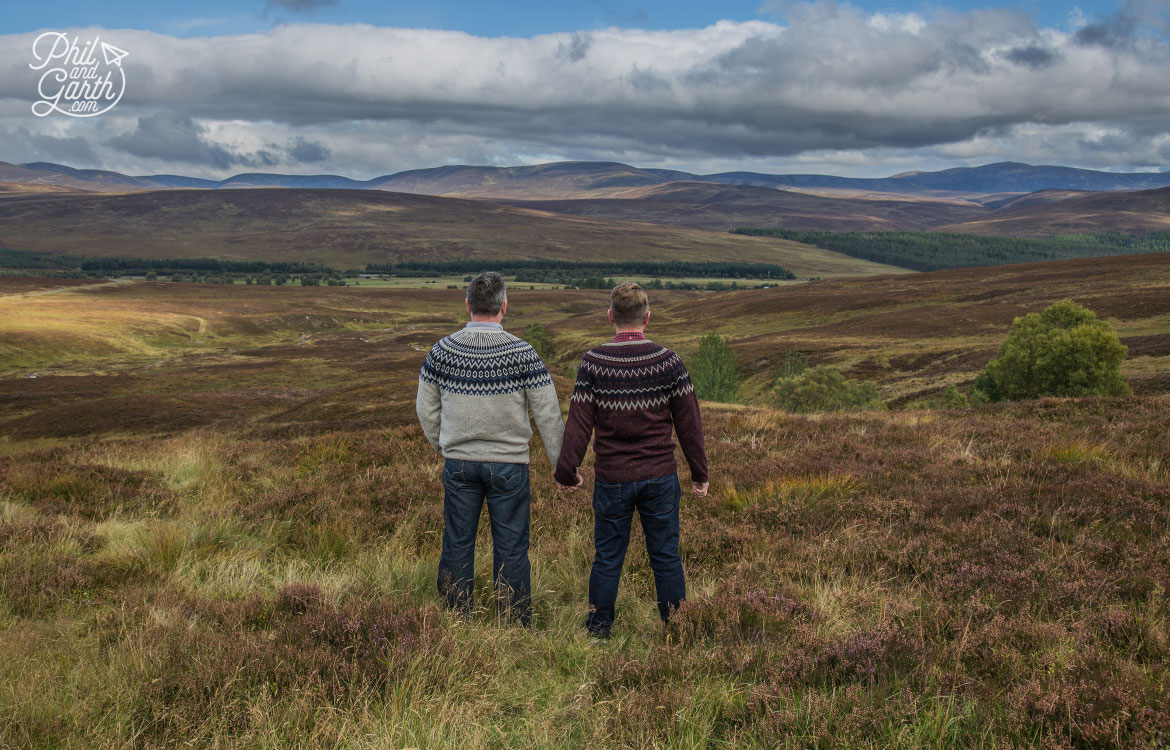 Scottish Highlands in 7 Days - Phil and Garth in the Scottish Highlands