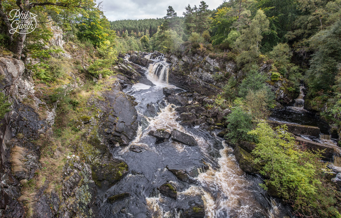 Scottish Highlands in 7 Days - Rogie Falls