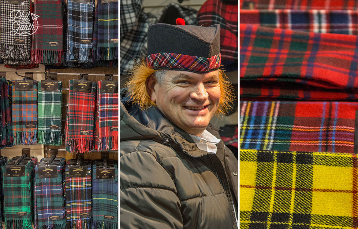 Scottish tartan heaven at Spean Bridge